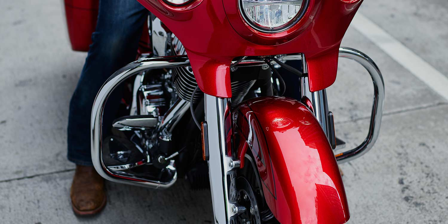 Indian® Chieftain® Limited - CHROMEN VALBEUGELS