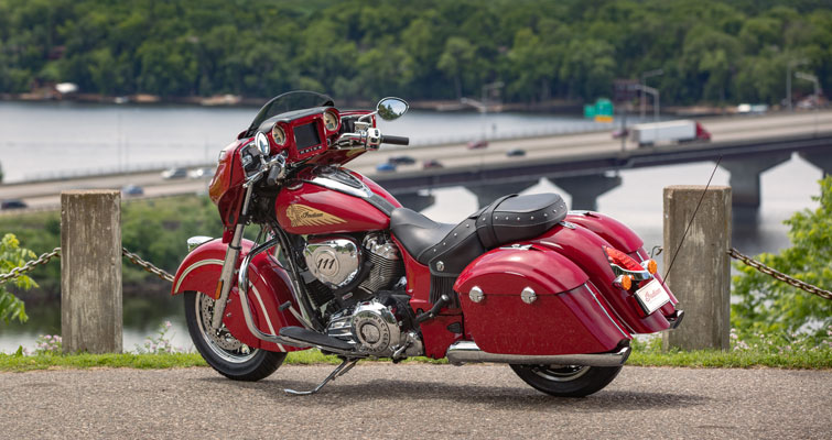 Indian® Chieftain® Classic - CRUISE CONTROL