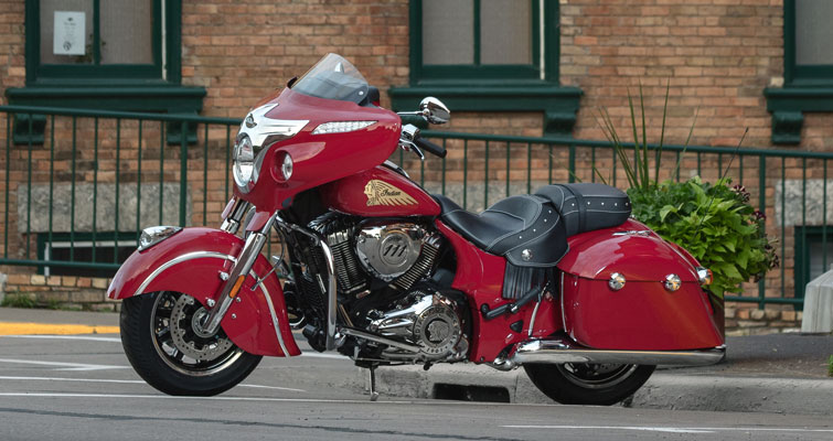 Indian® Chieftain® Classic - GEGOTEN ALUMINIUM FRAME