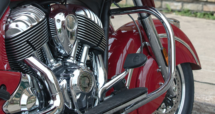 Indian® Chieftain® Classic - CHROMEN VALBEUGELS