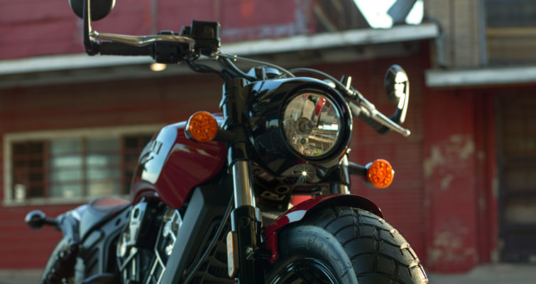 Indian® Scout Bobber - CARTRIDGE VOORVORK