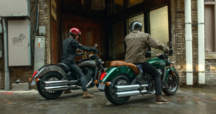Indian® Scout - MODERNE TECHNOLOGIE