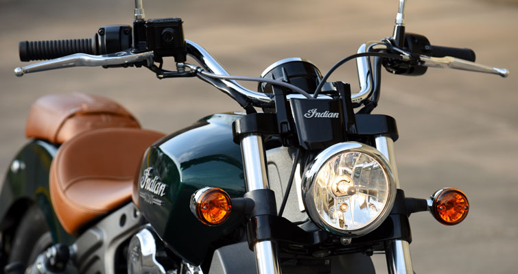 Indian® Scout - KOPLAMP