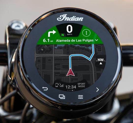 "4"" Ride Command-touchscreen"
